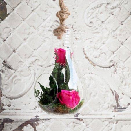 Composition Florale Stabilisée L'envoutante Création Originale de Déco Végétale