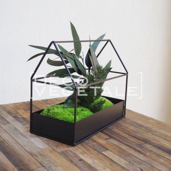 Composition Florale Stabilisée Asia Garden Création Originale de Déco Végétale