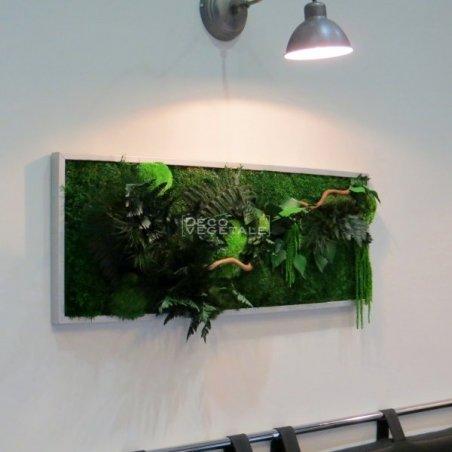 Tableaux Végétal Stabilisé Green Wave Création Originale de Déco Végétale